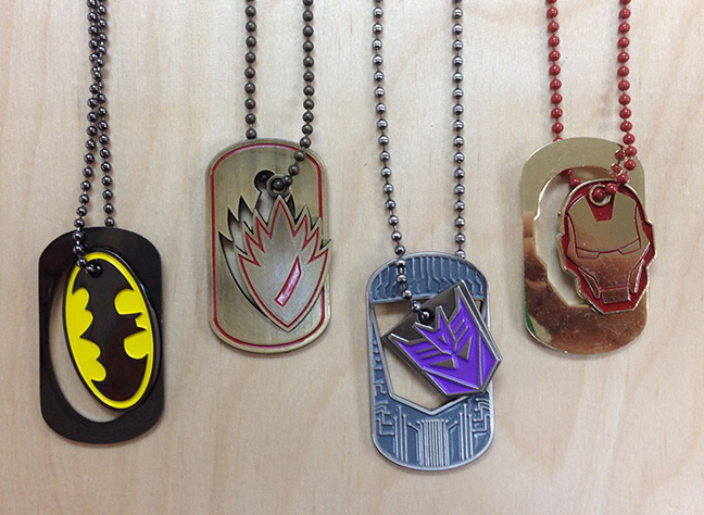 Knock Out Dog Tags