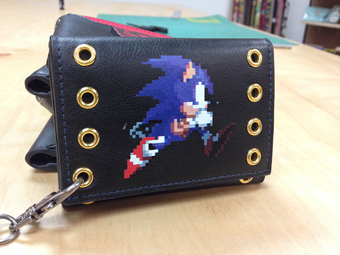 Sonic Trifold Chain with Rivets