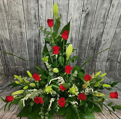 סידור פרחים קלאסי