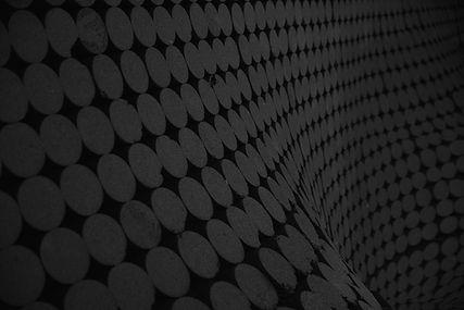 Round Patterns cinza