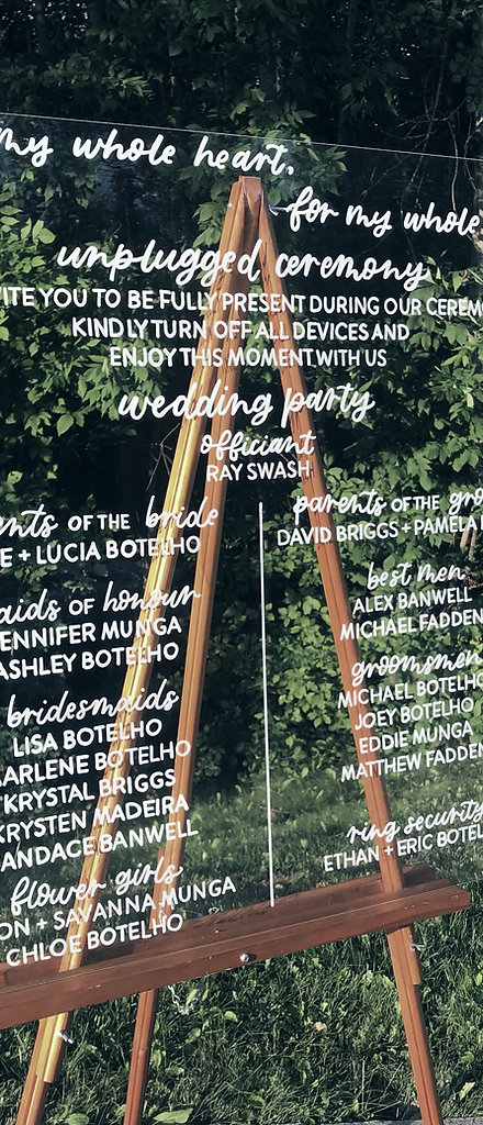 Greater Toronto Area Calligraphy   Offerings   Megan Nicole Lettering