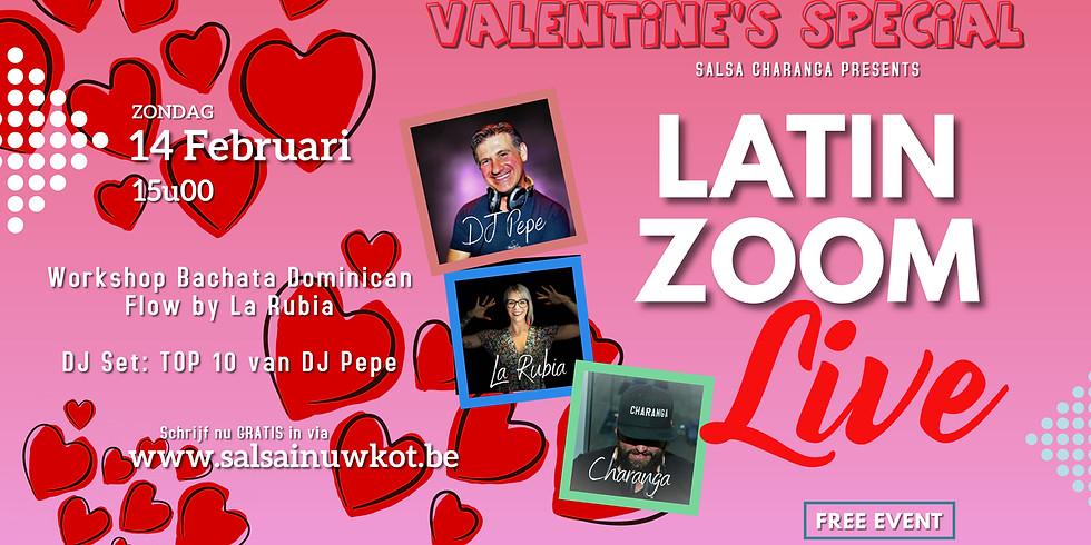Latin Zoom Live: Valentine