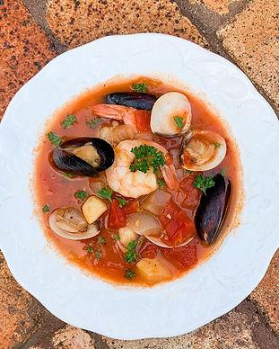 Seafood Cioppio