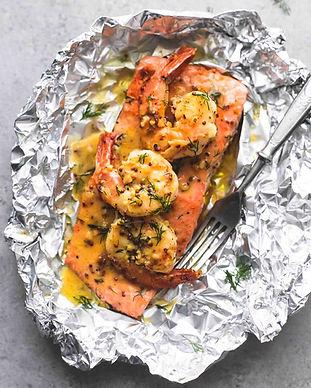 garlic-dijon-shrimp-salmon-foil-packs-10