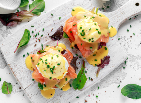 Smoked Salmon Eggs Benedict Recipe