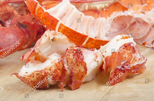 stock-photo-lobster-meat-and-shell-on-wo