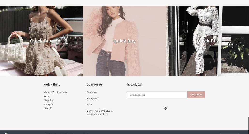 Custom Shopify Website
