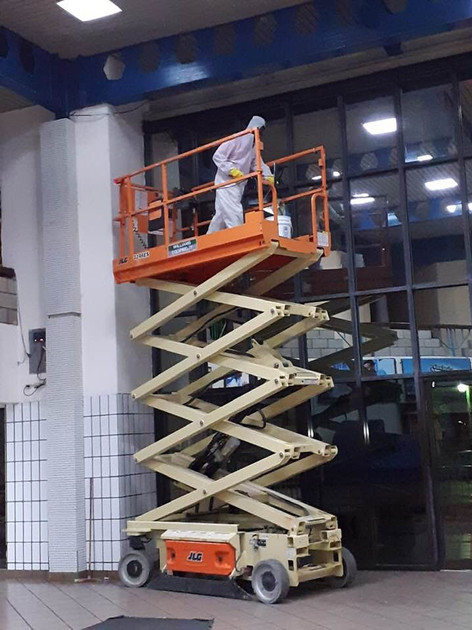 Bus Terminal Commercial Cleaning