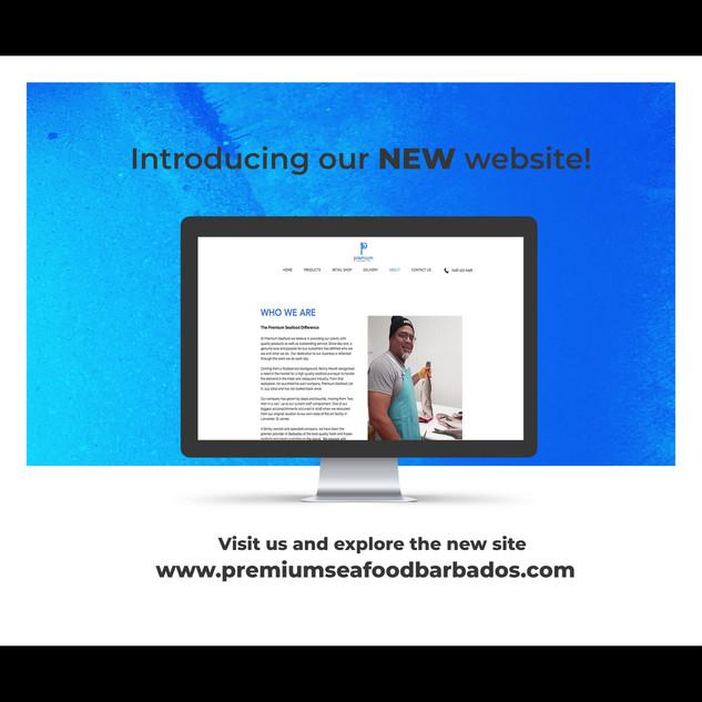 Website Launch Promotion