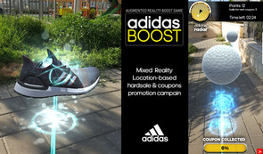 Adidas boost AR game