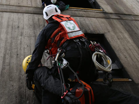 Rescue From Height Training