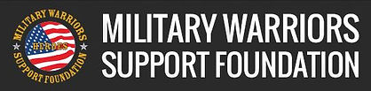 Military warriors support foundation log