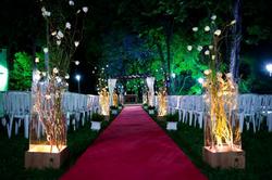 Corredor Iluminado - Casamento