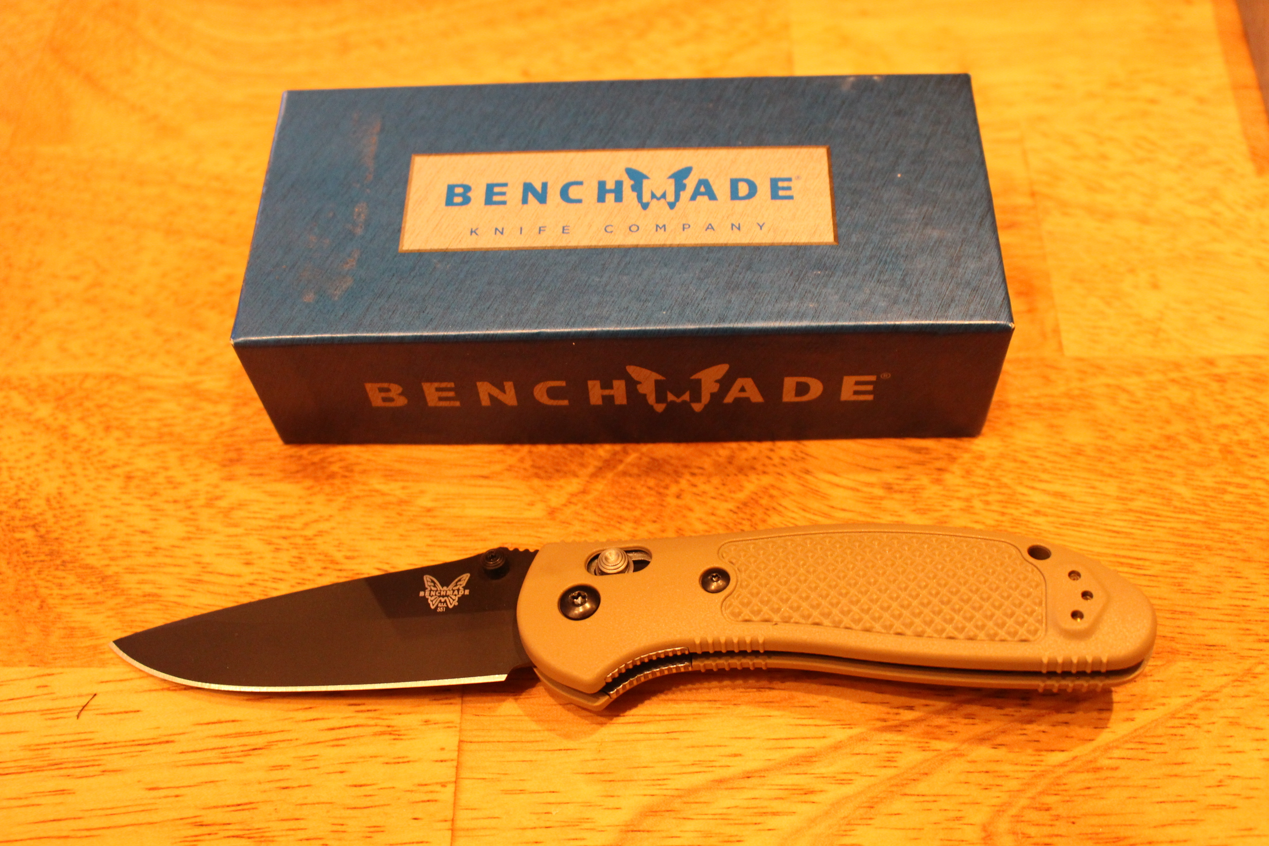 $107 value - Benchmade Griptilian 55