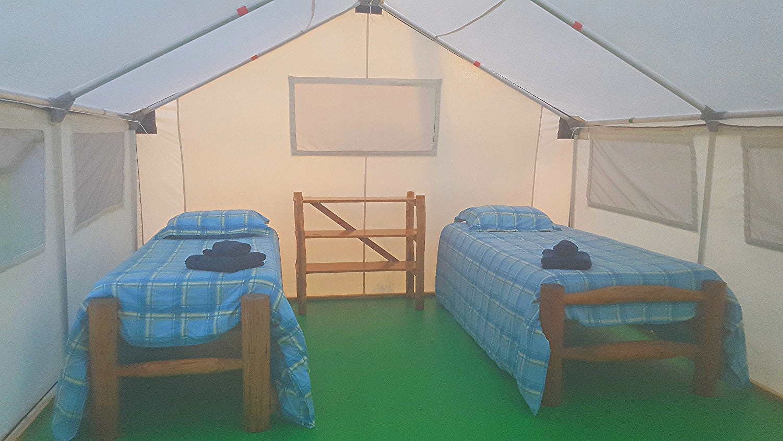 Luxury Tents on Prospector Ridge | Flying U Ranch