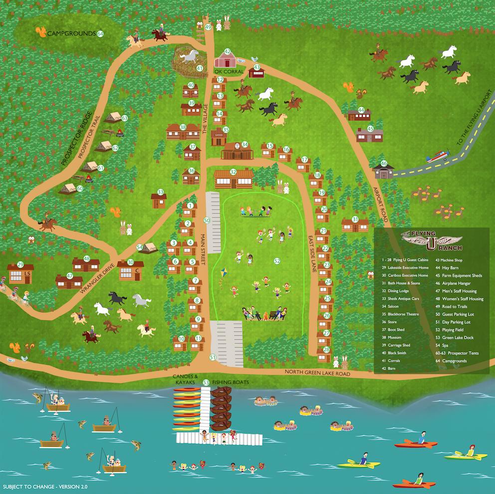 Flying U Map 2.0
