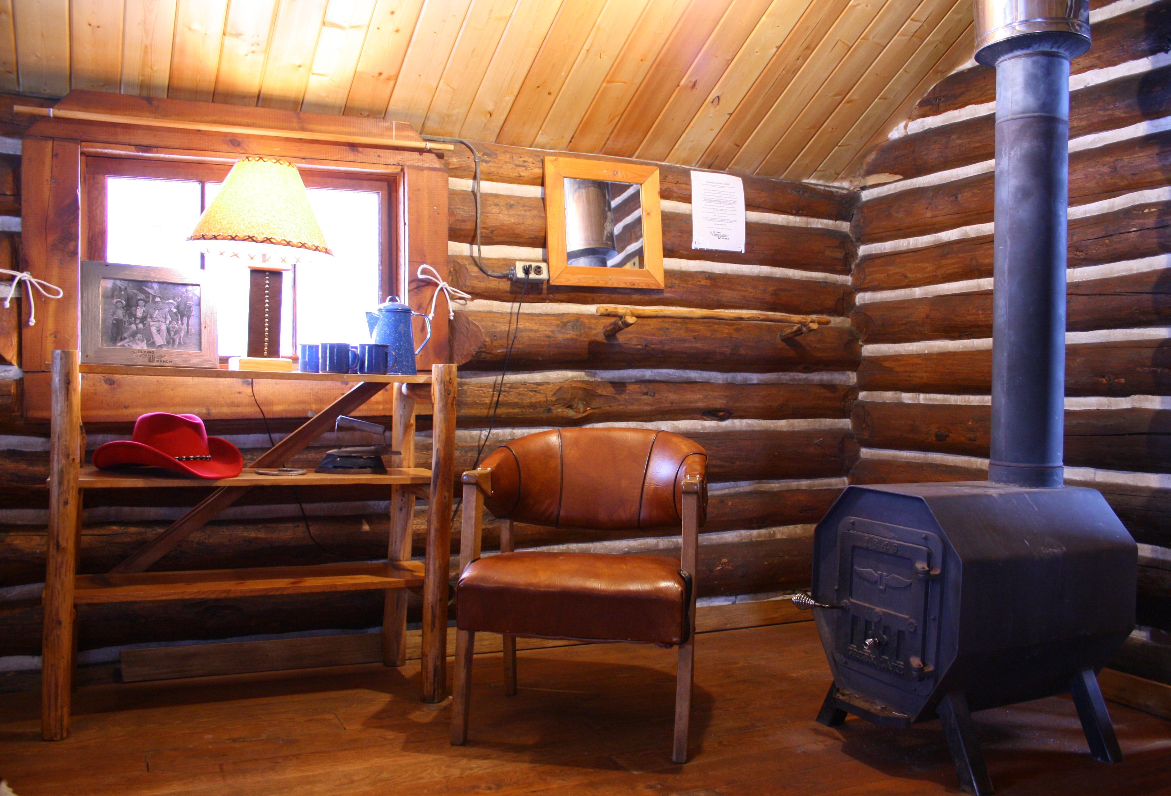 Cabin set up