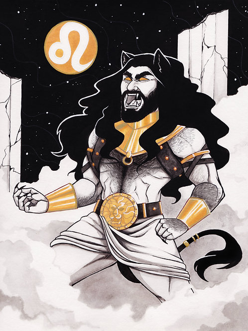 5x7 Print: Zodiac