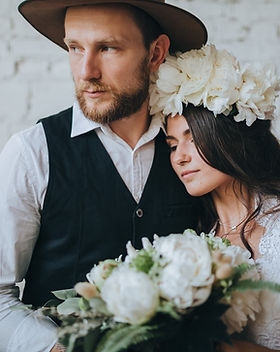 svatební pár
