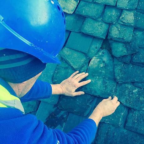 Slate repairs in Clarkston