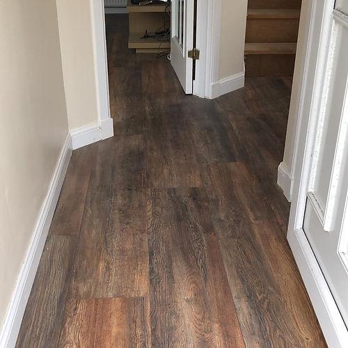 Laminate flooring Paisley