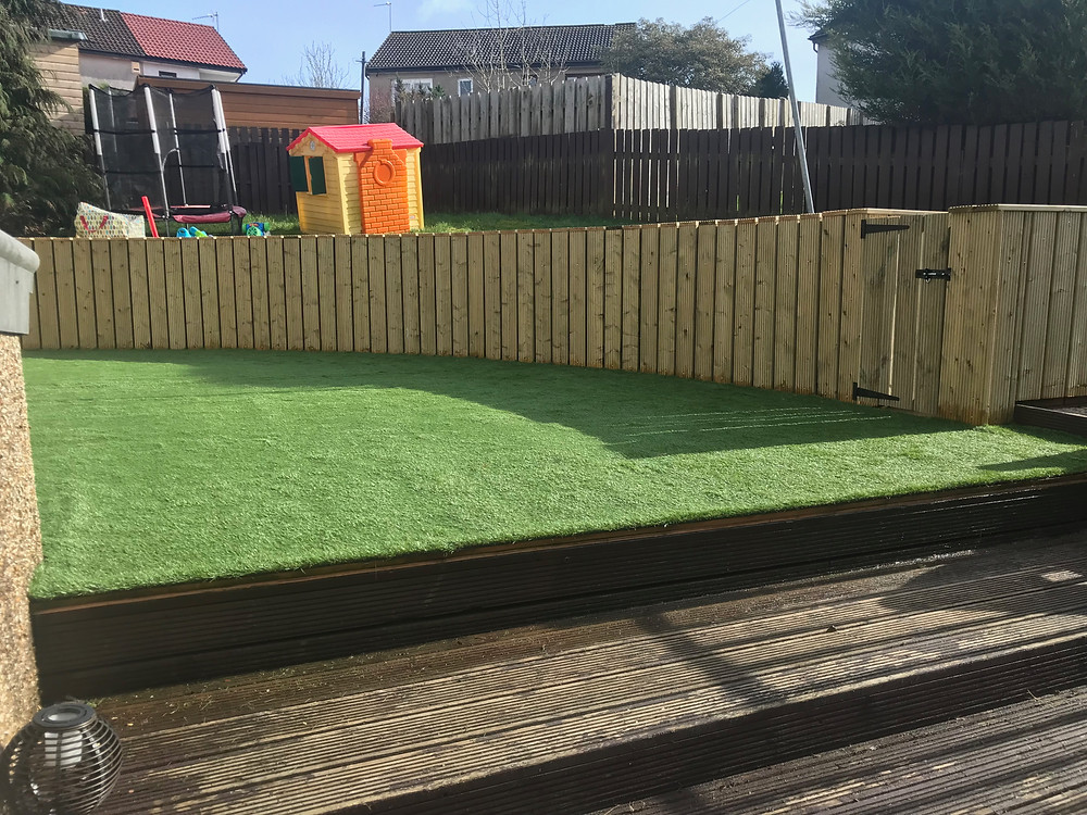 Artificial Grass fitted
