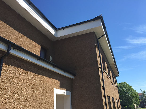 UPVC Fascias, Soffits and Gutters