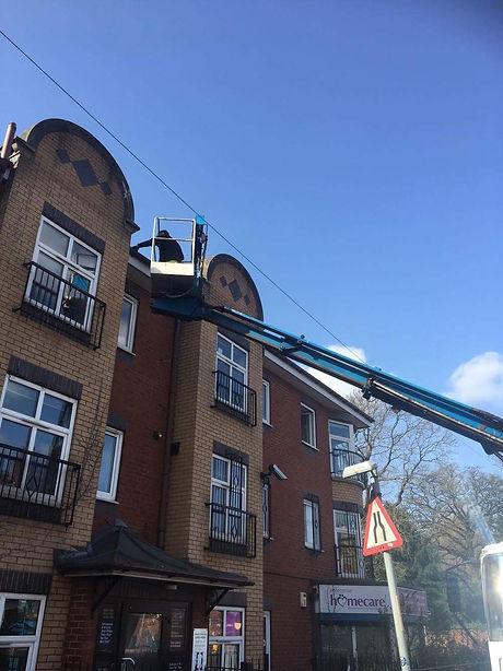 Emergency Roof Repair in Giffnock