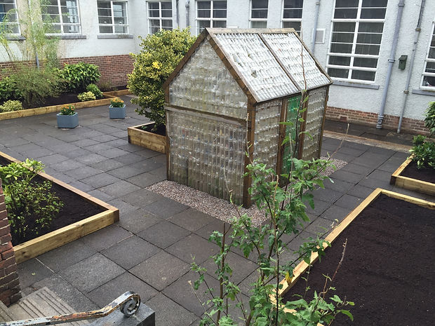 Carolside Primary Secret Garden Complete