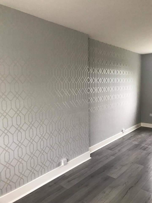 Wallpapering Newton Mearns