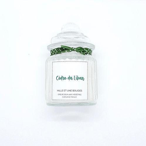 Bougie parfum CEDRE DU LIBAN