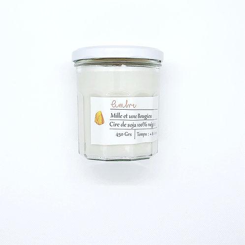 Bougie Pot parfum AMBRE