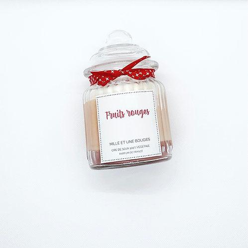 Bonbonnière parfum FRUITS ROUGES