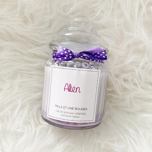 BOUGIE Bonbonnière parfum ALIEN