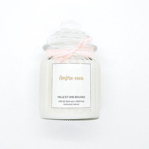 Bonbonnière parfum AMBRE COCO