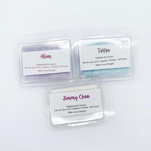 Tablettes parfumées de 6 Coeurs Fondants