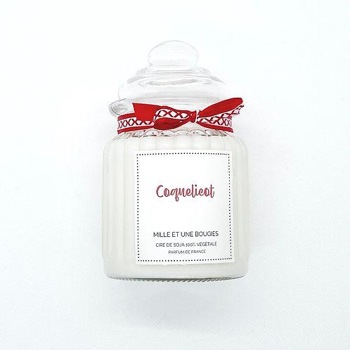 Bonbonnière parfum COQUELICOT