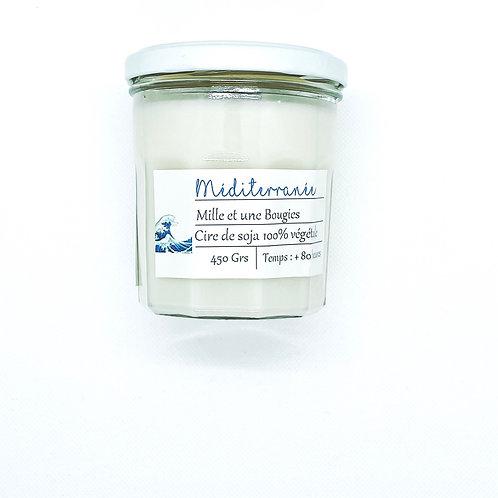 Bougie Pot parfum MEDITERRANEE