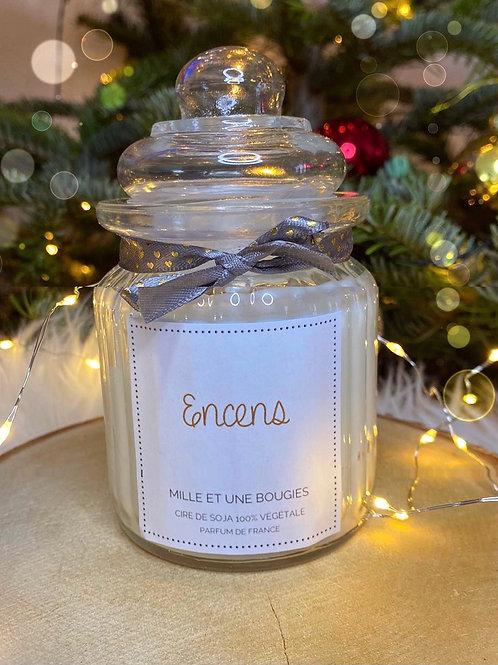 Bougie parfum Encens