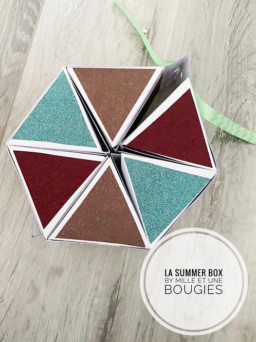 Box Summer / Couleurs selon stock