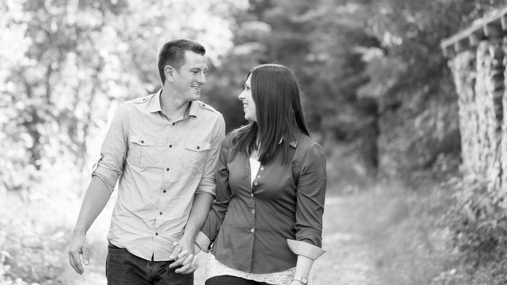 Engagement Shooting Verliebt Paarshooting
