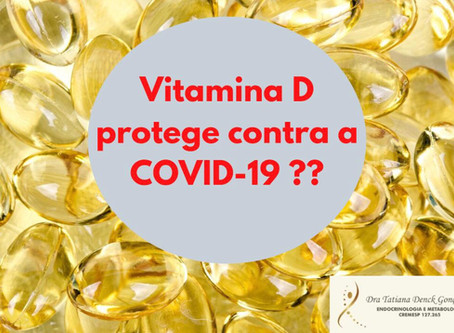 Vitamina D protege contra a Covid-19?