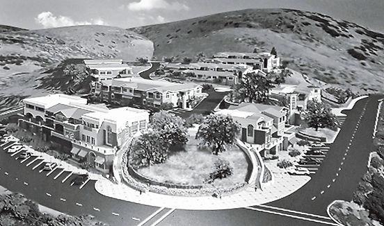 Agoura Village Cornerstone Project Render