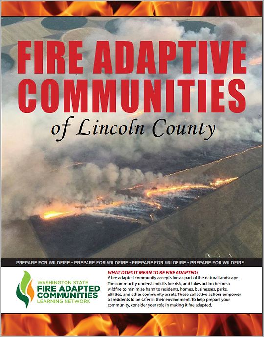 Fire Adaptive cCommunitiesrochure fo