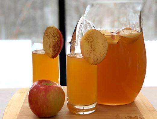 Apple pie Punch Bowl