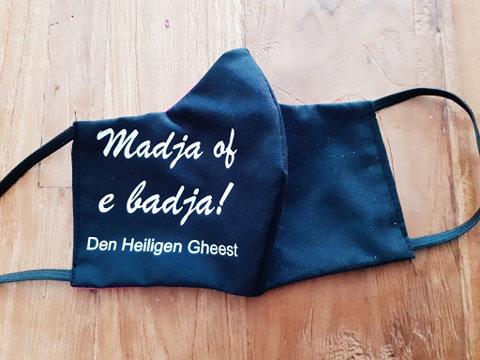 Madja of e Badja! Mondmasker met verzendkosten