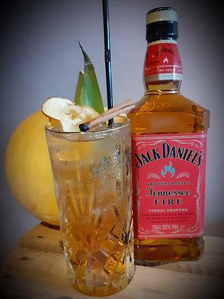 Jacks fire / apple