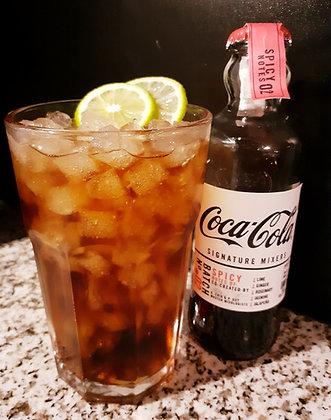 assortiment met Coca-Cola signature mixers