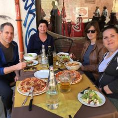 Famjam in Venice.