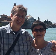 Venice Island hopping.
